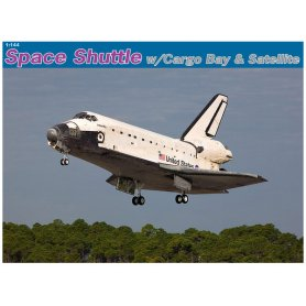 Dragon 11004 Space Shuttle W/Cargo Bay 1/144