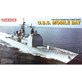 DRAGON 7035 USS MOBILE BAY    1/700