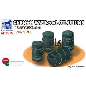 Bronco AB 3575 German WWII 200L Oil Drums