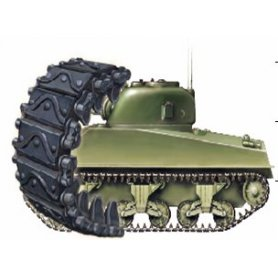 Bronco Ab3539 Sherman T62 - Tracks