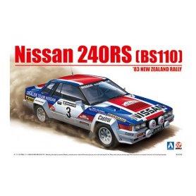 Aoshima 08579 1/24 Nissan 240RS '83 New Zealand