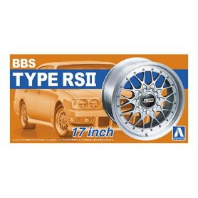 Aoshima 1:24 Wheel rims and tires BBS TYPE RSⅡ 17INCH