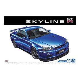 Aoshima 05159 1/24 Nissan Skyline Gt-R V-Specii '