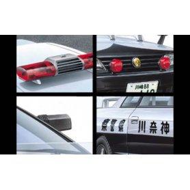 Aoshima 04799 1/24 Patrol Car Parts B