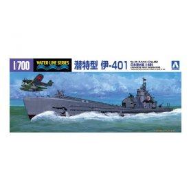 Aoshima 03845 1/700 Submarine I-401