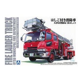 Aoshima 01207 1/72 Fire Laer Truck Otsu Municipal