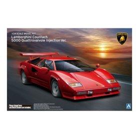 Aoshima 01155 1/24 Lamborghini Countach 5000 Quat