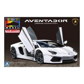 Aoshima 01139 Lamborghini Aventador LP700-4 White