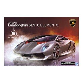Aoshima 01074 1/24 Lamborghini Sesto Elemento