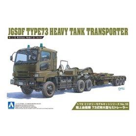 Aoshima 00997 1/72 Type73 Heavy Tank Transporter