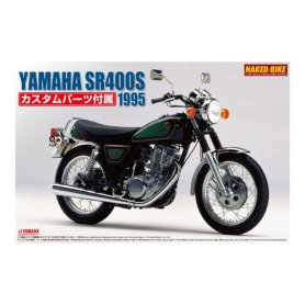 Aoshima 00165 1/12 Yamaha Sr400S WC Parts