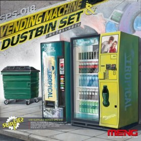 MENG SPS-018 Vending Machine & Dumpster Set