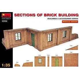 MINI ART 35552 BRICK BUILDING