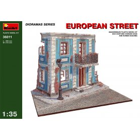 MINI ART 36011 EUROPEAN STREET