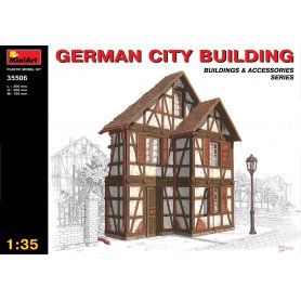 Mini Art 1:35 GERMAN CITY BUILDING