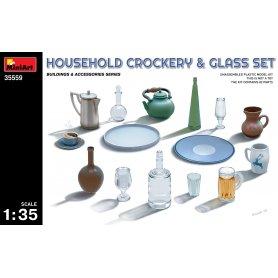 Mini Art 35559 Household Crockery & glass set