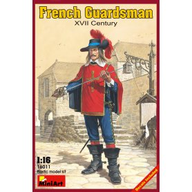 Mini Art 1:16 French Guardsman XVII century
