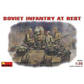 MINI ART 35001 SOVIET INFANTRY 1/35