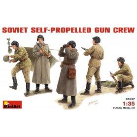 MINI ART 35037 SOVIET SPG CREW 1/35