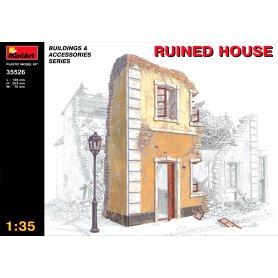 Mini Art 1:35 RUINED HOUSE