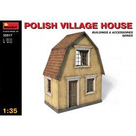 MINI ART 35517 POLISH VILLAGE HOUSE