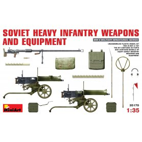 MINI ART 35170 SOV. H. INF. WEAPONS