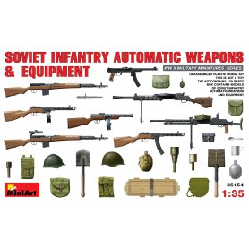 MINI ART 35154 SOV. INF.WEAPONS & E