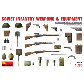 MINI ART 35102 SOVIET INFANTRY