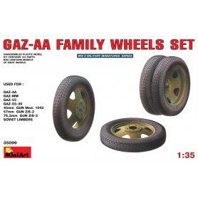 MINI ART 35099 GAZZ-AA WHEELS SET