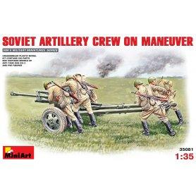 MINI ART 35081 SOVIET ARTILLERY CR.