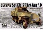 AFV Club 35068 Sd.Kfz 251 D/9