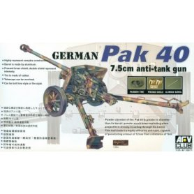 AFV Club 35071 PAK 40 75mm Gun