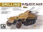 AFV Club 35082 Sd.Kfz 251/21 Ausf.D Drilling