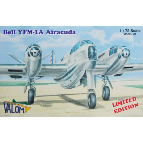 Valom Models 1//72 BELL YFM-1 AIRACUDA Prototype Fighter