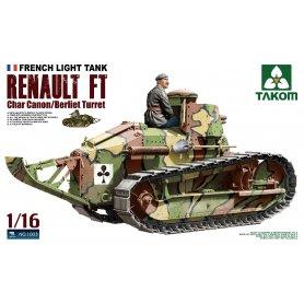 Takom 1003 Renault FT/Berliet turret
