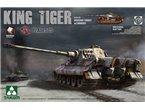 Takom 2047 SdKfz 182 King Tiger Henschel turret