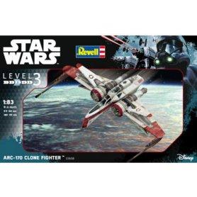 STAR WARS 1/83 /03608/ ARC-170 FIGHTER