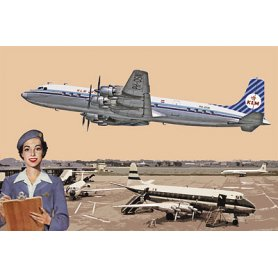 RODEN 302 1/144 DC-7C ROYAL DUTCH A