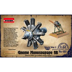 RODEN 621 1/32 ENGINE GNOME MONO100