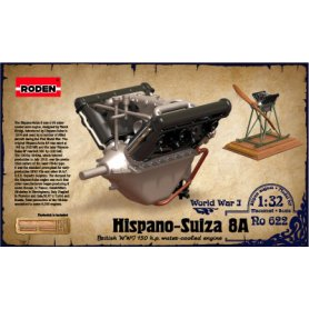 RODEN 622 1/32 ENGINE HISPANO SUIZA