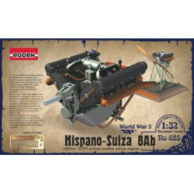 RODEN 625 1/32 ENGINE HISPANO W4A V