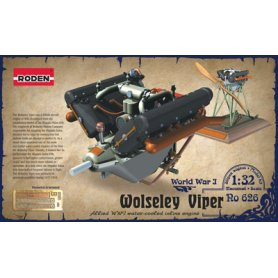 RODEN 626 1/32 ENGINE WOLSELEY W4A