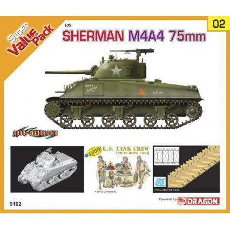 Dragon 1:35 M4A4 75mm Sherman - Sklep Modelarski Agtom