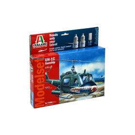 ITALERI 71050 UH-1C GUNSHIP - SET