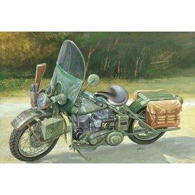 Italeri 7401 1:9 U.S. Army WWII Motorcycle