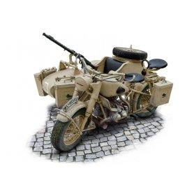 Italeri 7403 1/9 German Milit. Motorcycle