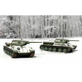 ITALERI 7523 1/72 T-34/76 Mod.42 (2 x Fast.A.K.)