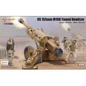 MERIT 61602 US 155MM M198 HOWITZER