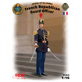 ICM 16004 French Repuplican Guard Officer