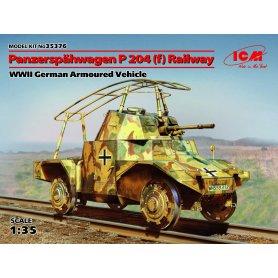 ICM 35376 Panzerspahwagen P204(f) Railway